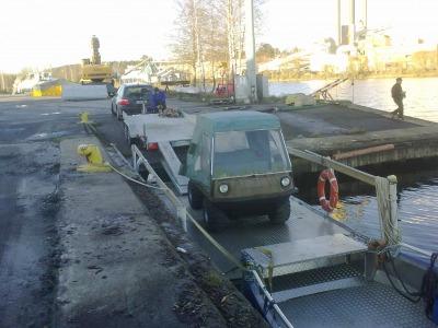 Kuljetuslautta ANNA, Rahti-Ahti ja asennuslautta Apu-Ahti
