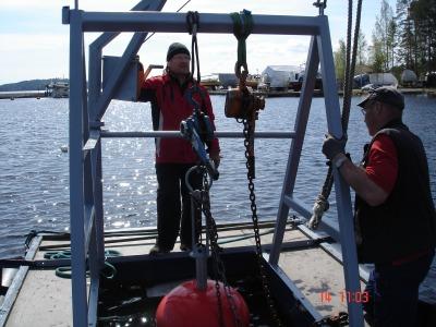 Vesistökohteiden urakointi, ruoppaus ja vedenalaiset ankkuroinnit, väylätyöt vesistössä